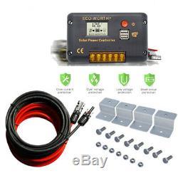 100W 12V Solar Panel Kit 20A Solar Charge Controller 12V 24V off grid RV Camper