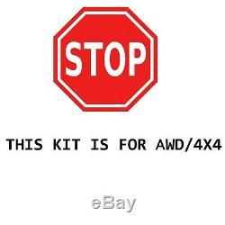 13pc Control arm Ball joint Tierod sway links Kit for Silverado 1500 4x4 6-Lug