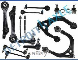 14pc Upper Lower Control Arm Tie Rod Ball Joint for 2005-2010 Dodge Charger 300