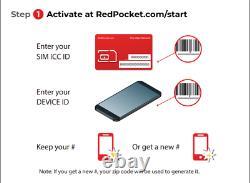 $15/Mo Red Pocket Prepaid Wireless Phone Plan+Kit UnImtd Everything 3GB LTE