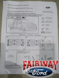 15 thru 20 Ford F-150 F150 OEM Genuine Ford Black Stowable Bed Extender Kit NEW