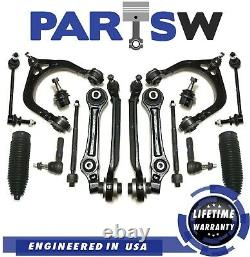 16 Pc Kit for Dodge Charger Magnum Chrysler 300 Front Control Arm Tie Rod Ends