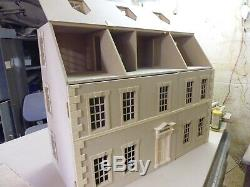 1/12 scale Dolls House Dalton 7 Room Dolls House 3ft wide kit by DHD