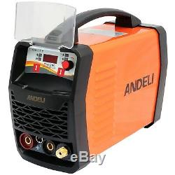 200amp Hf Ignition Tig/mma DC Inverter Welder 2 In 1 Machine Duty Cycle 60% +kit