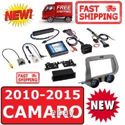 2010-15 Chevy Camaro Double Din 2din Car Stereo Radio Installation Dash Kit