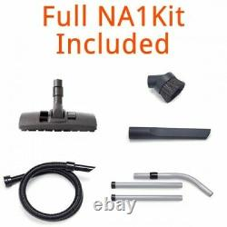 2021 HENRY HOOVER INDUSTRIAL NUVAC Commercial Vacuum Cleaner GREY VNP180 NA1 Kit