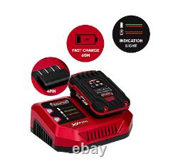 20v Cordless Li Ion 7 Piece Combo Kit with 2 Batteries & Fast Charger Lumberjack
