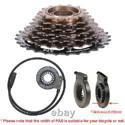 261500W Electric Bicycle Conversion Kit E-Bike Rear Wheel LCD Meter 48V