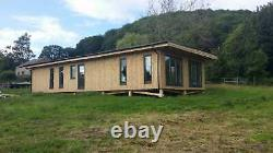 3 Bed Adelaide Timber Frame Annex Self-build Lodge Kit Caravan Act Compliant