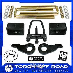 3 Front 3 Rear Lift Kit 1988-1998 Chevy GMC K1500 4X4 4WD Z71 with TOOL