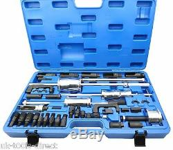 40pc Diesel Injector Puller Remover MASTER Tool Kit BOSCH DENSO SIEMENS DELPHI