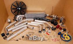 485hp Turbo Kit B-Series Honda B16 B18 B20 TurboCharger Civic Integra JDM SERIES