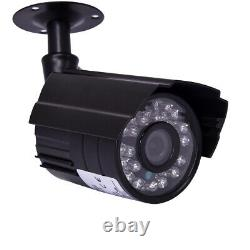 4CH 1080P DVR CCTV Camera Home Security System Kit IR Outdoor Night Vision