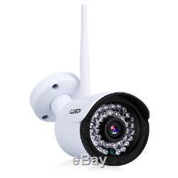 4CH Wireless 1080P CCTV DVR Kits 1TB HDD 4PCS WiFi IP Camera Security NVR System