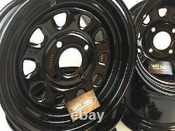 4 Honda ATV UTV Wheels Set 12 ITP Delta Steel Black 4/110 5+2 2+5 Honda