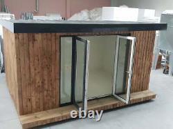 4m x 3m Self Build Insulated Garden Office DIY kit, Garden Room, Studio office