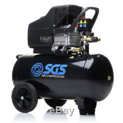 50 Litre Air Compressor & 5 Piece Tool Kit 9.6 CFM, 2.5 HP