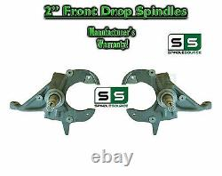 82-05 Chevy S-10 S10 GMC S-15, 82-97 Sonoma Blazer Jimmy 2 2 inch Drop Spindles