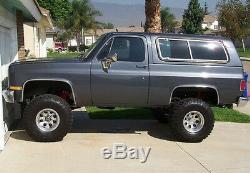 85 87 Chevy 3PC Grill & Head Light Door Kit, Truck Silverado Suburban, 86,88