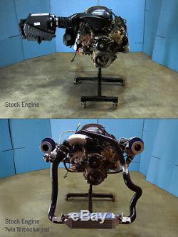 99-11 Tahoe Suburban Yukon VORTEC 1000HP TWIN Turbo Kit Turbocharger V8 5.3 6.0