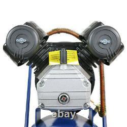 Air Compressor 100L Litre V-Twin 3hp 14cfm 115psi 8bar 5pc air tool kit HYUNDAI