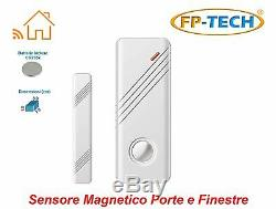 Antifurto Allarme Touch Screen Casa Kit Combinatore Gsm Wireless Senza Fili App