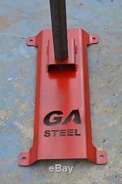 Ar500 Steel Hostage Reactive Idpa 2/3 Shooting Target 3/8x12x20 Tgard044-kit