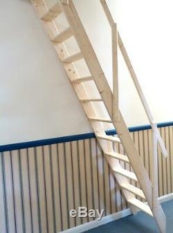 Arundel Wooden Space Saver Staircase Kit (Loft Stair / Ladder)