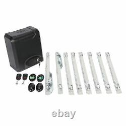 Automatic 600KG Sliding Gate Opener Kit Door Electric 2 Keys+4m Racks UK