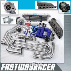 BMW 323I 325I 328I E36 E46 V6 M50B25 M52B25 B54 B56 S50 T04E T3 T3/T4 Turbo Kit