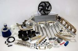 BMW M52 S50 E36 Custom Turbocharger Turbo Kit T3/T4 FREE USA SH! E 36 PACKAGE