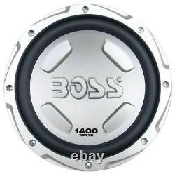 BOSS AUDIO CX122 12 1400W Car Power Subwoofer Sub & Mono Amplifier & Amp Kit
