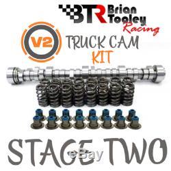 BTR LS Truck Camshaft Kit Stage 2 Cam Valve Springs Seals 4.8 5.3 6.0 6.2