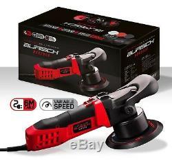BURISCH HDR2500 DA Polisher + Farecla G3 compound polish wax kit + bag + pads