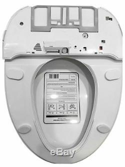 Bidet4me E-200B Electric Bidet Toilet Seat Elongated White -DIY Kit Free US Ship