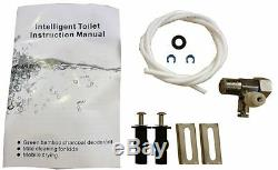 Bidet4me E-20A Electric Bidet Toilet Seat Elongated White -DIY Kit Free US Ship