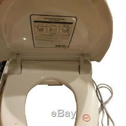Bidet4me E-260A Electric Bidet Toilet Seat Elongated White -DIY Kit Free US Ship