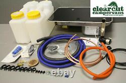 CAN FL1323 Campervan/Motorhome/Boat, Small Hob & Sink, 12l Water & Full Pod Kit