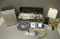 Campervan Kit, Smev 9222, Waeco CRX-50 Fridge, PMS, CBE Sockets, Electric Hook-up