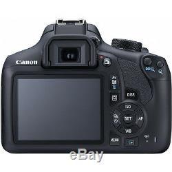 Canon EOS Rebel T6 SLR Camera 1300D + 18-55mm IS + 500mm 4 Lens Kit 32GB Kit