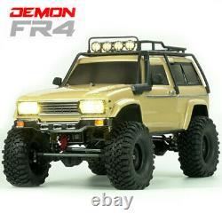 Cross RC CZRFR4A FR-4A 1/10 Demon 4x4 Crawler Kit-Lexan SUV Body Basic