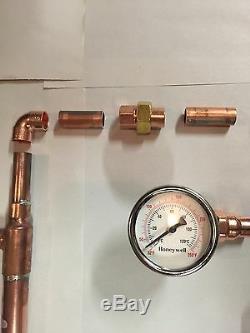 DIY Beer Keg Kit 2 Copper Pipe Moonshine Pot Still Distilling Column Tri Clamp