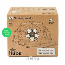 DIY Geodesic Dome Kit Make a fruit cage, arbour, garden room, aviary, etc