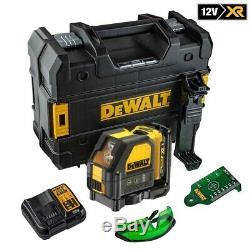 Dewalt DCE088D1G 12V Self Leveling Cross Line Green Laser kit 1 x 2.0Ah Battery