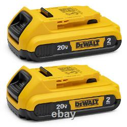 Dewalt Xtreme 12V MAX Brushless Cordless Compact Drill and Impact Driver Kit