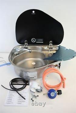 Dometic Smev 8821 Left Sink & Hob Campervan Combination Kit Tap Reg + Template