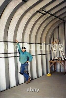DuroSPAN Steel 25'x24'x13' Metal Building DIY Home Kits Open Ends Factory DiRECT