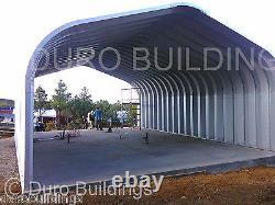 DuroSPAN Steel 25'x26x'13 Metal Prefab DIY Building Kit Open Ends Factory DiRECT