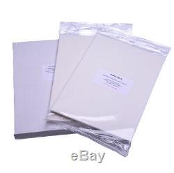 EDIBLE PRINTER KIT refillable cartridges, edible ink, 50 wafer paper, templates