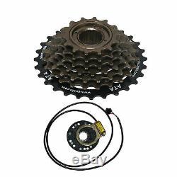 Electric Bicycle Conversion Kit 1500W 48V E Bike Motor Hub Speed Rear Wheel 26